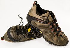 Shoes, Footwear, Hiking Shoes Stock Images