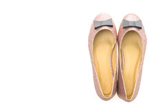 Shoes and footwear for woman Royalty Free Stock Image