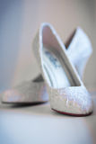 Shoes For The Bride Royalty Free Stock Photo