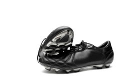 shoes fotboll Royaltyfria Foton