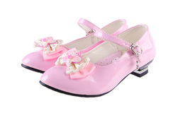 Shoes for girls on background Royalty Free Stock Photos