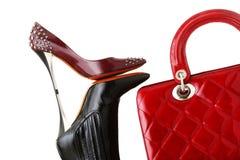 Shoes and handbag Royalty Free Stock Photo