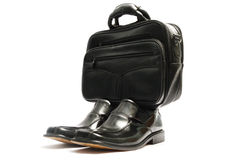 shoes and handbag Royalty Free Stock Photo
