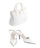 Shoes with handbag Royalty Free Stock Photo