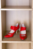 Shoes on high heel Royalty Free Stock Image