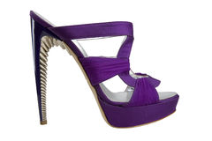 Shoes with high heels Stock Photo