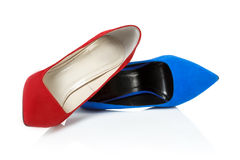 Shoes on high heels Royalty Free Stock Photo