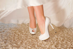 Shoes with High Heels Stock Photos