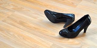 Shoes home Royalty Free Stock Images