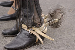 Shoes huaso Stock Images