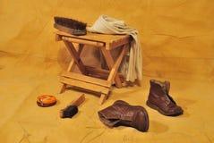 shoes/II des Kindes Stockbilder