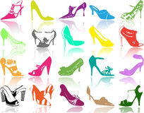 Shoes illustration Royalty Free Stock Photos