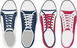 Shoes. Illustration of shoes and vectors Stock Photos