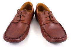 Shoes on isolated Royalty Free Stock Photos