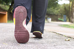 Shoes for jogging Royalty Free Stock Photos