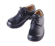Shoes, kid shoes on background. Royalty Free Stock Photography