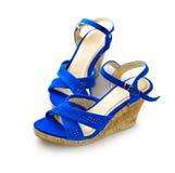 shoes kvinnan arkivbild