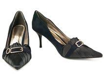 shoes kvinnan Royaltyfri Bild