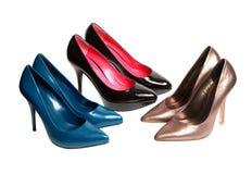 shoes kvinnor arkivfoton