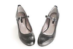 shoes kvinnor Royaltyfri Fotografi