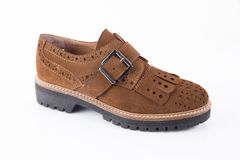 Shoes leather Royalty Free Stock Photo