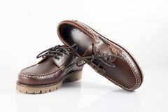 Shoes leather Royalty Free Stock Images