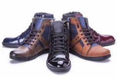 Shoes. Leather shoes, man fashion, mans hoes, product photo shoes stock photos