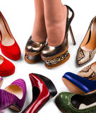 Shoes and legs-4 Stock Image
