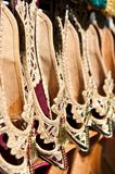 Shoes at the market Royalty Free Stock Photo