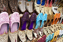 Shoes at the market Stock Photo