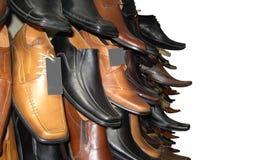 Shoes marknadsför Arkivfoton