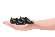 Shoes for men Royalty Free Stock Photography
