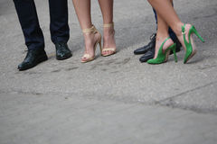 Shoes men and women Royalty Free Stock Images