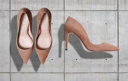 Shoes mockup set Stock Photos