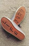 Shoes of my life Royalty Free Stock Photography