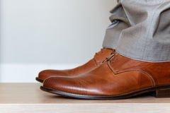 Shoes from one side Royalty Free Stock Photos