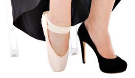 Shoes for opera ballett stock photography