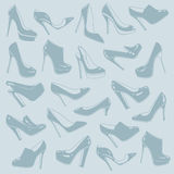 Shoes pattern Stock Photo