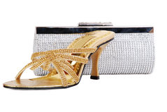 Shoes & Purse Royalty Free Stock Image