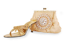 Shoes & purse Stock Photography