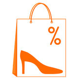 Shoes sale Royalty Free Stock Images