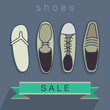 Shoes SALE Banner Stock Photo