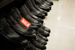 Shoes on sale Royalty Free Stock Photo