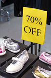 Shoes sales Royalty Free Stock Photography