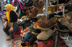 Shoes and sandals Royalty Free Stock Photo