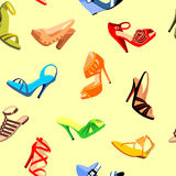 Shoes Seamless Stock Photography