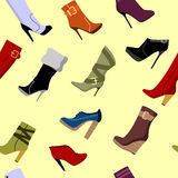 Shoes Seamless Royalty Free Stock Photo