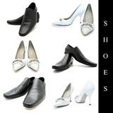 Shoes set Royalty Free Stock Photography