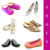 Shoes set Royalty Free Stock Image