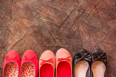 Shoes set Stock Image